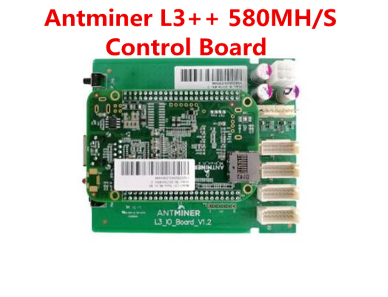 цена ANTMINER L3++ Control Board Include IO Board and BB Board Replace Bad Board For ANTMINER L3++ 580MH/S