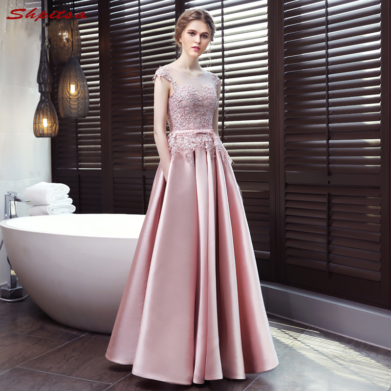 Pink Mother Of The Bride Dresses For Weddings Lace Evening
