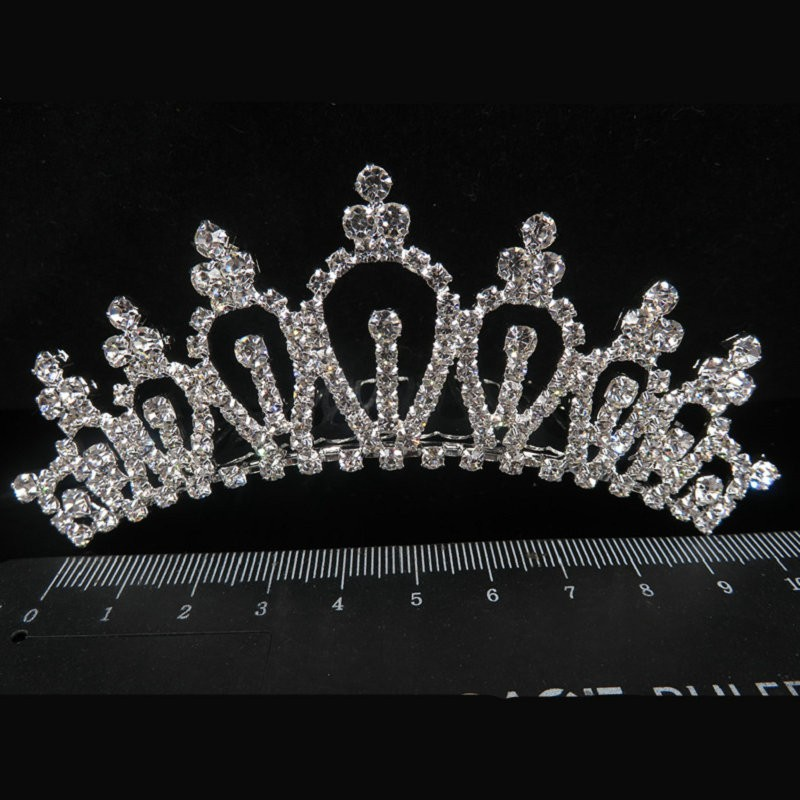 HTB1Cdn9MVXXXXaUXFXXq6xXFXXXV Majestic Prom Pageant Wedding Bride Bridesmaid Jewelry Comb Tiara - 13 Styles