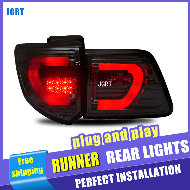 car styling For Toyota Fortune taillights 2011-2015 for Fortuner rear lights dedicated car light led taillight assembly yatour car adapter aux mp3 sd usb music cd changer 6 6pin connector for toyota corolla fj crusier fortuner hiace radios
