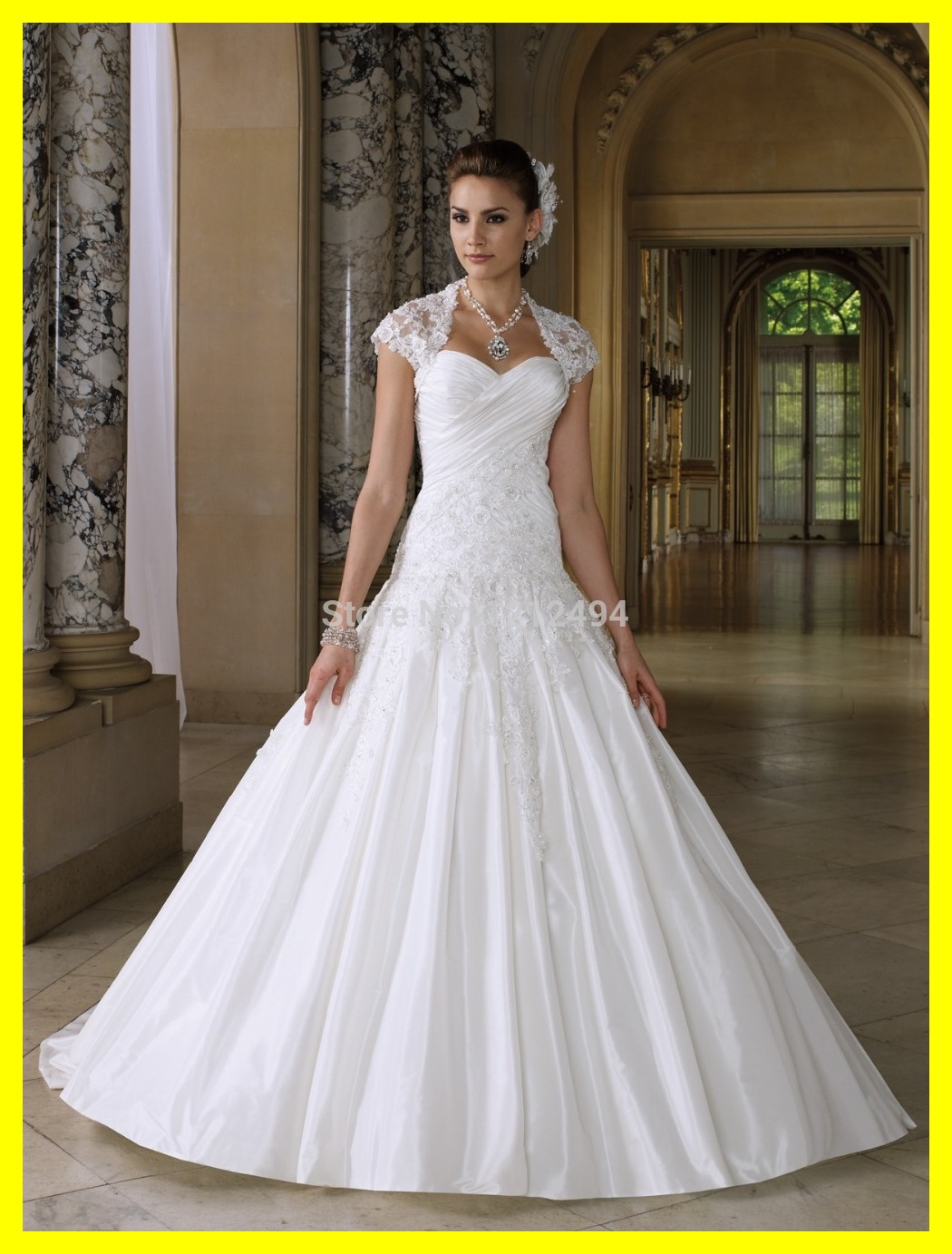 Wedding Dresses Beaded Black And White Zac Posen Long Ball Gown ...