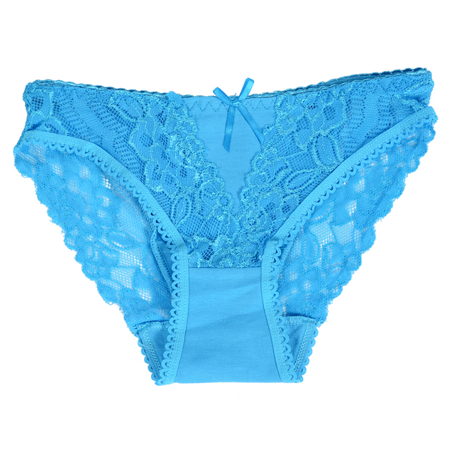 Cotton sexy panties women thongs lace underwear briefs