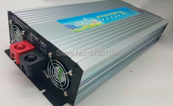 цена на DHL Fedex UPS free shipping High Efficiency 3000 Watt Pure Sine Wave Inverter 24V/48VDC 220V-240VAC