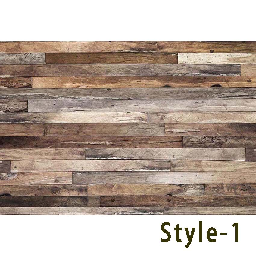 Wood Floor Backdrop for Photography Retro Dark Brown Photo Background Baby Backdrop for Photo Booth Pictures Small Size allenjoy camera photography 5x3ft wood floor backdrop horizontal backgrounds for baby and children professional photo booth