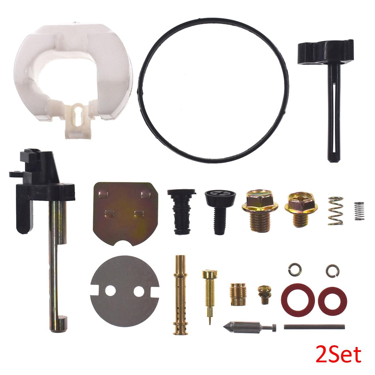 2 satz Qualität Vergaser Reparatur Kit Passt Honda GX390 Rasenmäher Ersatz