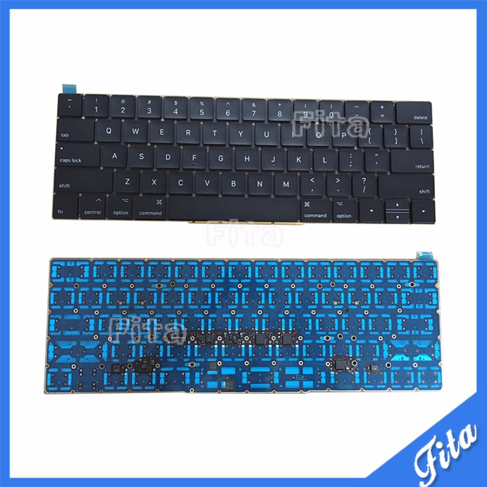 Original NEW Laptop Keyboard Replacement for Macbook Pro 15 15.4 A1707 2016 US Keyboard With Backlight 100% new original laptop keyboard us version for macbook a1706 us keyboard replacement page 3