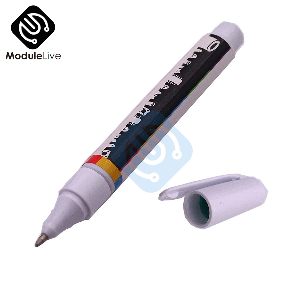 6ml Conductive Ink Pen Gold Electronic Circuit Draw Instantly Magical Pen Circuit DIY Maker Student Kids Education Magic Gifts(China)