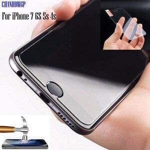 Image 2 - トップ強化ガラススクリーンプロテクター Funda 用 iPhone 11 プロ X XS 最大 XR 8 7 6 6S プラス SE 4 4S 5 5S 5C 10 カバー保護フィルム