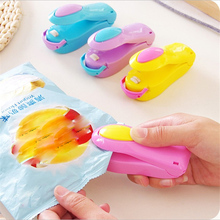 Mini Plastic Bag Heat Sealing Machine Impulse Sealer Storage Bags Sealing Device Handheld Portable Household Tools 6 colors portable mini sealing machine portable snack bag heat sealer hand press sealing machine for plastic bags food saver storage