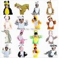 Envío gratis 2016 los niños de dinosaurios animales trajes para el niño fiesta de Halloween de dibujos animados Cosplay traje