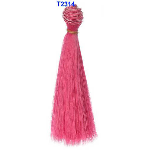 15 cm lengte 1 stuk roze groen blauw rood wit kleur dikke bjd pruiken pop haar voor barbie pop voor monster hoge pop