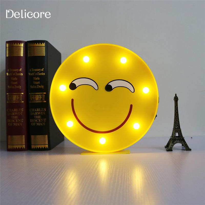 Emoji de cara pared colgante lámpara o cómico DELICORE LED srxhtQCBd