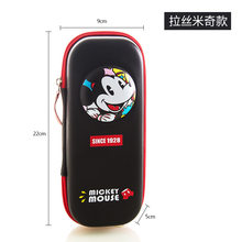 Primary school student pencil girl bag Disney Princess Mickey Mouse children pencil boy case large capacity pencil cartoon box(China)