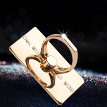 Luxury Diamond Finger Ring Mobile Phone Smartphone Stand 360 Degree Holder Mount for IPhone IPad Xiaomi Universal