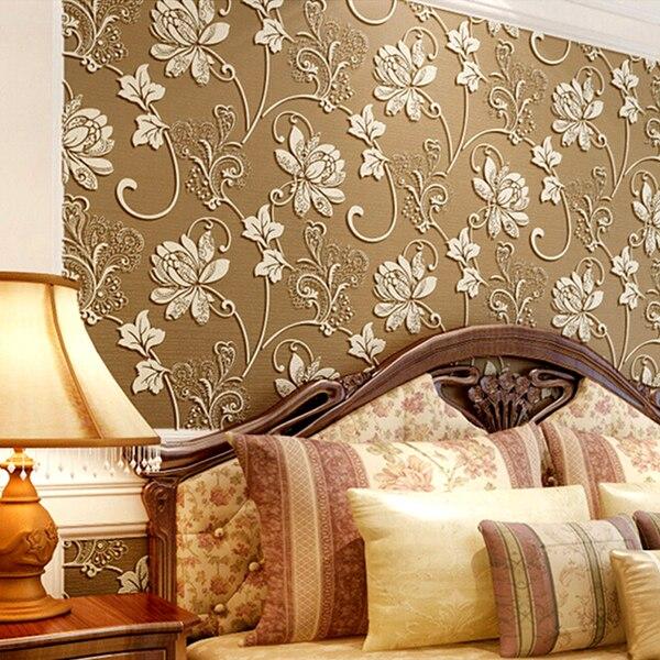 comprar moderno d europea damasco papel tapiz para paredes dormitorio de pared floral paperpapel de parede wallpaper de televisin de fondo