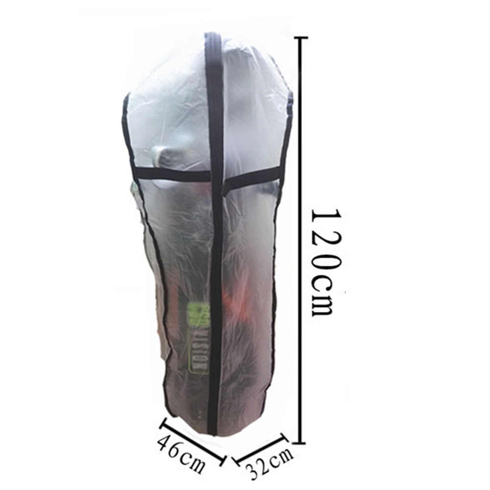 للماء انغلق درع غطاء للمطر العالمي حقيبة غولف ارتداء مقاومة في الهواء الطلق شفافة سهلة نظيفة مكافحة الغبار قضيب حامي