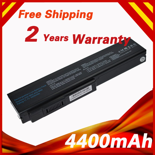 6 CELLS  Laptop Battery For ASUS A32-M50 A32-N61 A32-X64 A33-M50 M50 M60 N43 N43J N52A N53 N61 X55 X5M X64 X64J X64JV L07205