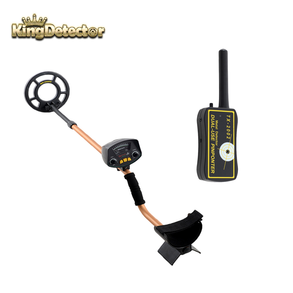 Hot Sale One Set Upgraded Underground Gold Detectors TX-2002 Hand Hold Metal Detector +MD-3009II Pinpointer Combination