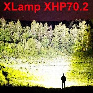 led flashlight high lumens xhp