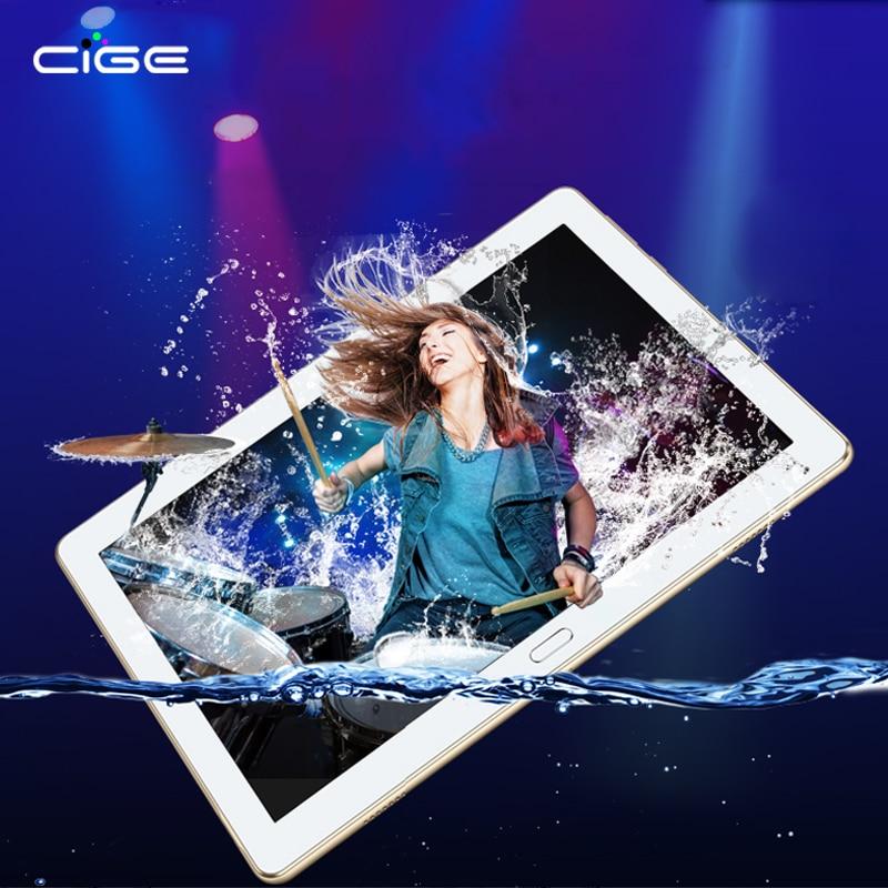 Más nuevo 4G Android 7.0 Tablet PC TAB 10 pulgadas deca Core 4 GB RAM 64 GB ROM dual tarjeta SIM llamada 10.1