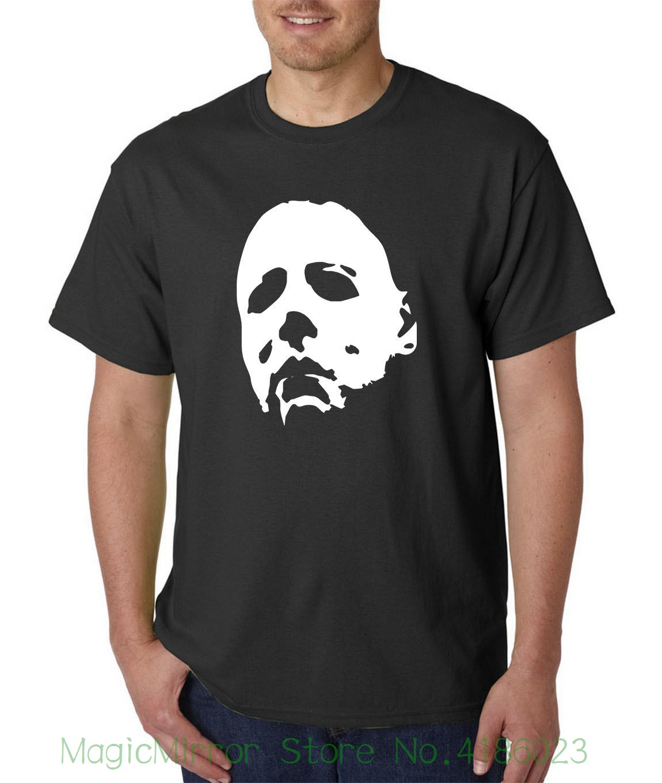 Halloween Mask T-shirt - Michael Myers Horror 1978 Jason Freddy Movie Horror Normal Short Sleeve Cotton T Shirts