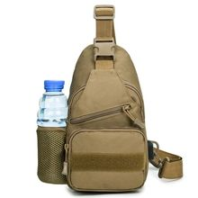 Men Tactical Shoulder Bag Military Chest Sling Pack with USB Charging Port for Trekking Camping Hiking Walking Travel Supplies outdoor military tactical shoulder bag with usb charging chest bag wear resistant travel camping backpack cycling