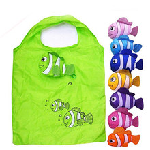 Beach Toy Storage Bag Light Weight Quick Dry Funny Fish Foldable Bags For Mum Children Summer Outdoor Play Toy Collection Bag(China)