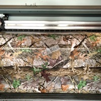 Camo Vinyl Wraps Sheets in Realtree, Bionic Camouflage Pattern For Car Wrap Styling Car Body Sticker