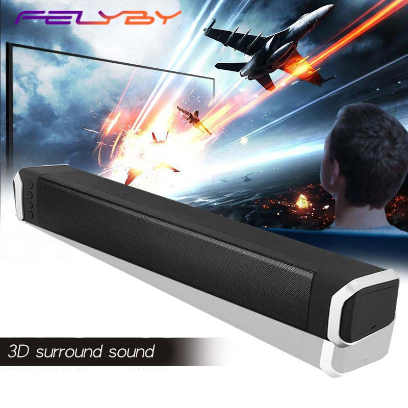 FELYBY NR 2017 Wireless Bluetooth Speaker Soundbar Stereo home theater Speakers portable computer Audio Subwoofer TF AUX