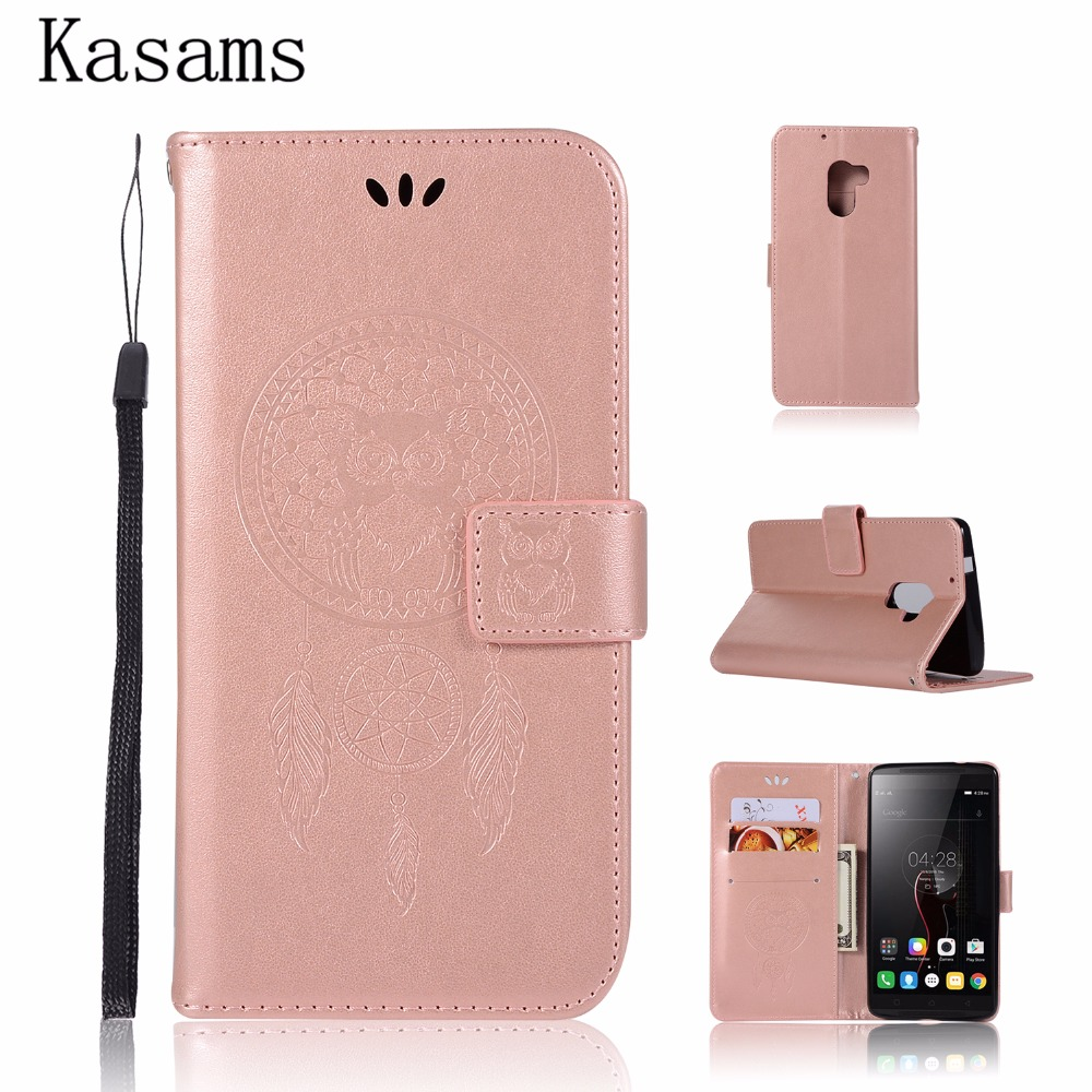 A7010 Case 3D Pattern Owl For Lenovo Vibe K4 Note A7010a48 Vibe X3 Lite PU Leather Case Flip Cover Magnetic Wallet Phone Shell