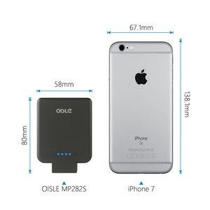 Image 2 - Oisle 2800 3200mahバッテリー充電器ケースiphone 8/7/6(s) 5 5s、se、超スリム薄型パワーバンクミニバックアップバッテリポータブル充電ケース