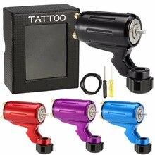 Neue Professionelle DIY Design Tattoo Maschine Aluminiumlegierung Dreh Elektrische Tattoo Motor Maschine Für Shader Liner