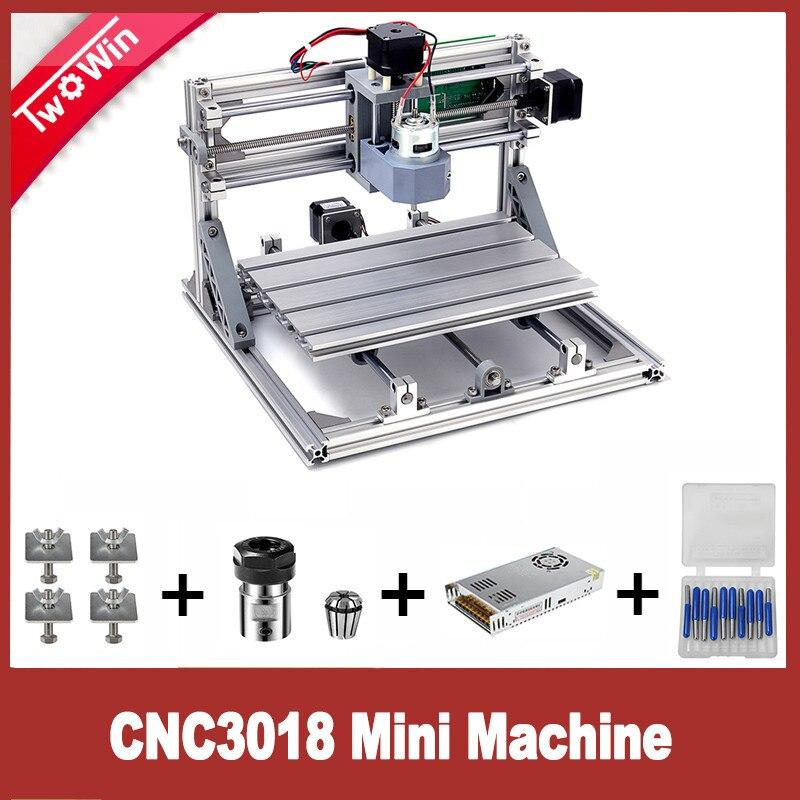 Cnc 3018 With Er11 Power Supply Diy Mini Laser Engraving