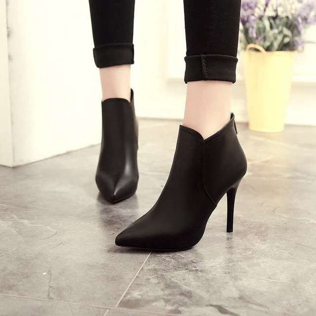 fdcddf6681c36 Noopula Sexy Ankle Boots Women Boots Womens Spring Boots Women s Brand  Booties For Designer Snow Fashion Woman Femme Shoes Sexy