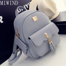 Женщины рюкзак небольшой размер черный pu кожи женщин рюкзаки школа моды девушки женщины back pack известный бренд tdy334