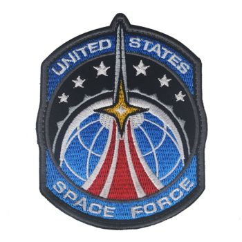 Space Force Embroidery Badge Patch