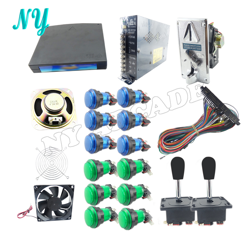 JAMMA Arcade DIY KIT for box 3 520 in 1 game borad PCB joystick led push jamma arcade diy kit for box 3 520 in 1 game borad pcb joystick Off-Road Light Wiring Harness at crackthecode.co