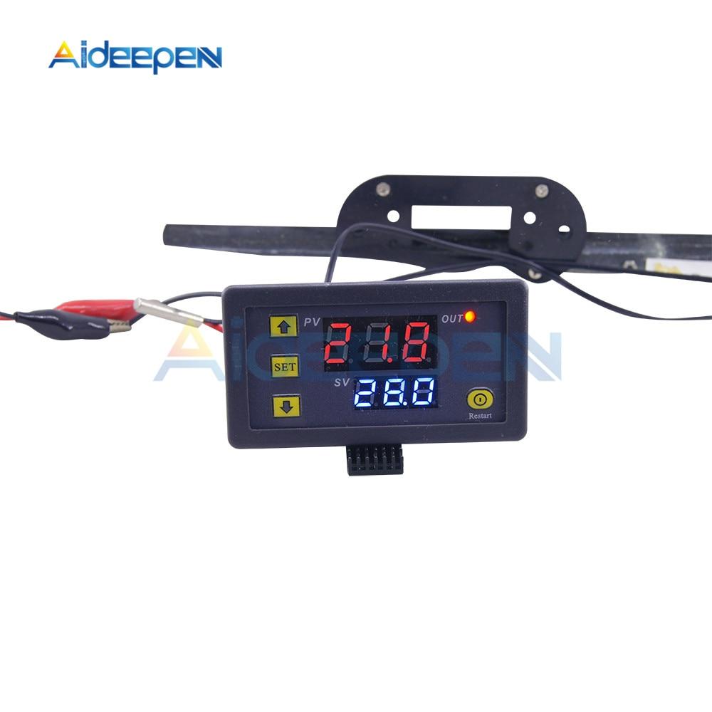HTB1Cdt.B5CYBuNkHFCcq6AHtVXa3 W3230 AC 110V-220V DC12V 24V Digital Thermostat Temperature Controller Regulator Heating Cooling Control Instruments LED Display