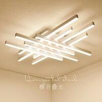 Nordic simplicidade pós moderna sala de estar teto lâmpadas de iluminação teto do quarto estudo de iluminação Criativa LEVOU as luzes do tecto|Luzes de teto|   -