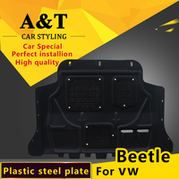 car styling For vw Beetle Plastic engine guard 2014 2015 For Beetle Engine skid plate fender alloy steel engine guard Car Access