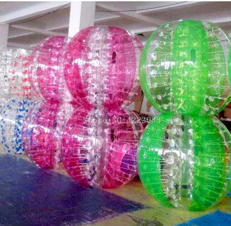 Free Shipping Door To Door inflatable bumper ball Inflatable Human Hamster Ball 0.8mm PVC 1.5m Outside Toy Balls