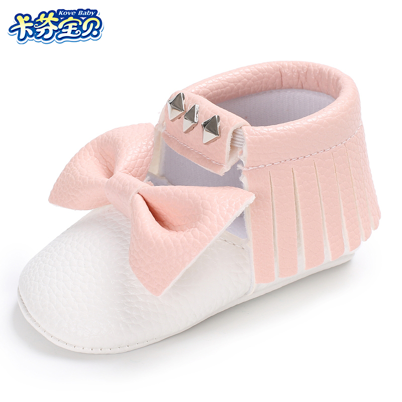 Newborn Baby Shoes For Kids Sneakers Fringe PU Leather Baby Moccasins Toddler Infant Crib Shoes Girl Boy First Walkers 3 Size