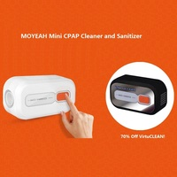 MOYEAH Mini CPAP Cleaner Disinfector Ventilator Cleaner Sleep Apnea Cpap Air Tubes Clean Sanitizer Sterilizer