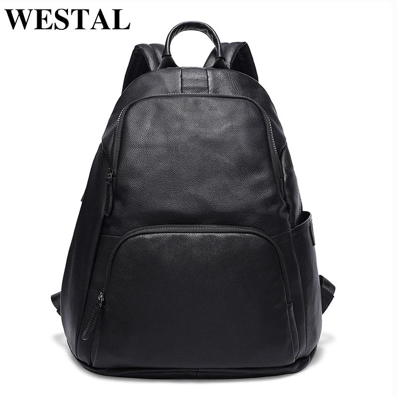 WESTAL USB Charging Men Backpack 15inch Laptop Bag Backpack Male School bag for Teenager Backpack Mochila Computer Bags 7237 цена