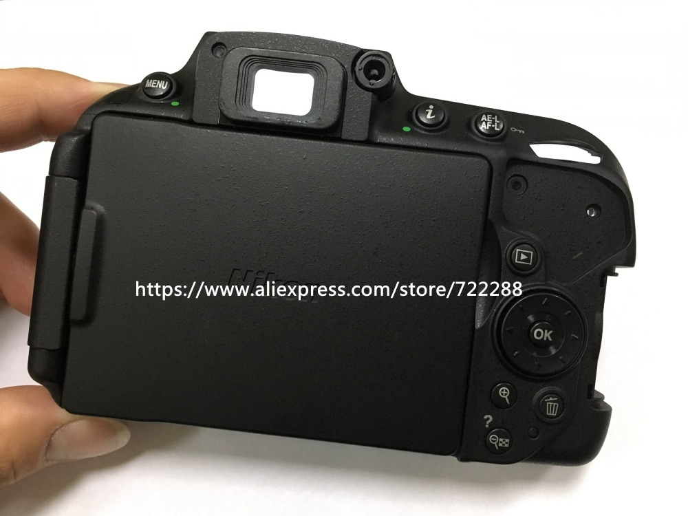 Repair Parts For Nikon D5300 Rear Shell Back Cover Ass y With LCD Display Screen Unit