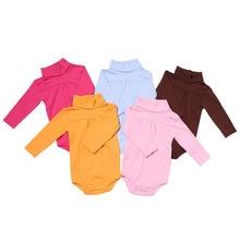 Одежда для новорожденных девочек боди bebe детские комбинезоны с длинными рукавами зимние комбинезоны отложной воротник детская одежда боди для малышей