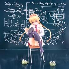 Japanese Sexy Anime brinquedos 8″ Native Science Teacher Suzuki Margit Creator's PVC Action Figure Model Collection Toys Gift