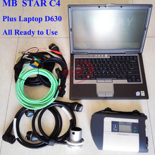 MultiLanguage MB Star C4 SD Connect Plus SD Compact 4 V2017.07 HDD Software Xentry&DAS + Laptop D630 for MB Star Diagnosit Tool