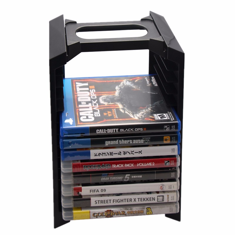 Multifunctional Storage Box Stand Dock Station For Sony For Playstation 4 for PS4 Controller Game Accessories