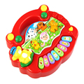 New Useful Popular Baby Kid Animal Farm Piano Music Toy Developmental wholesale